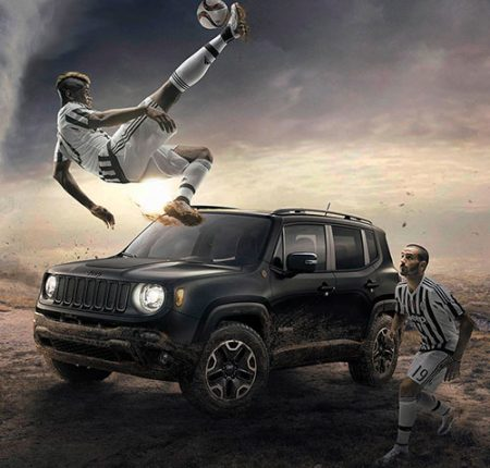 Jeep Grand Cherokee & Juventus
