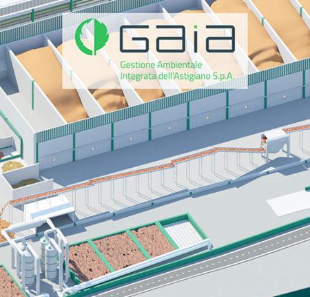 GAIA impianto di compostaggio