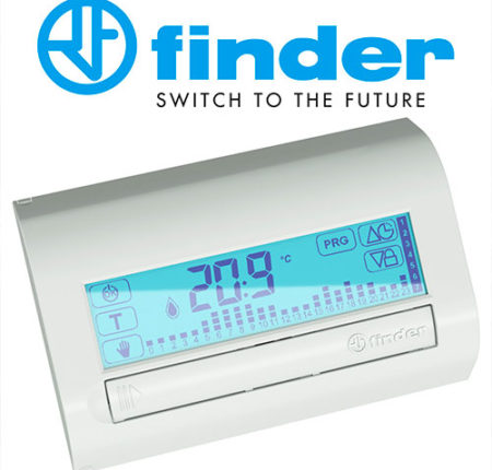 FINDER – Cronotermostato touch screen